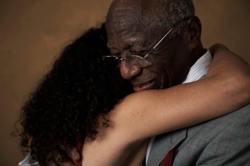 guild living-father daughter hugging