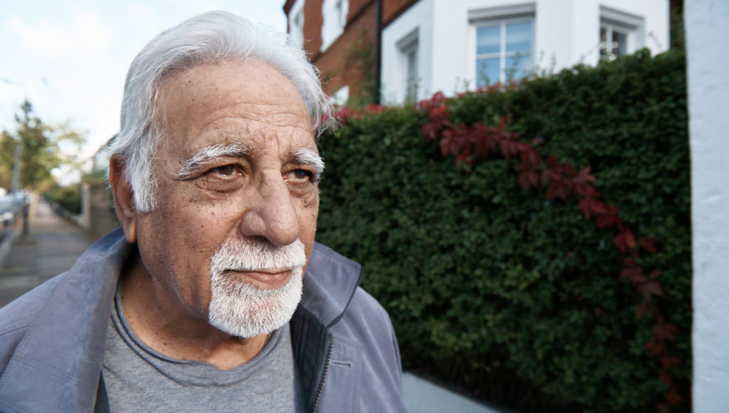 Guild Living man walking - later living social care reform