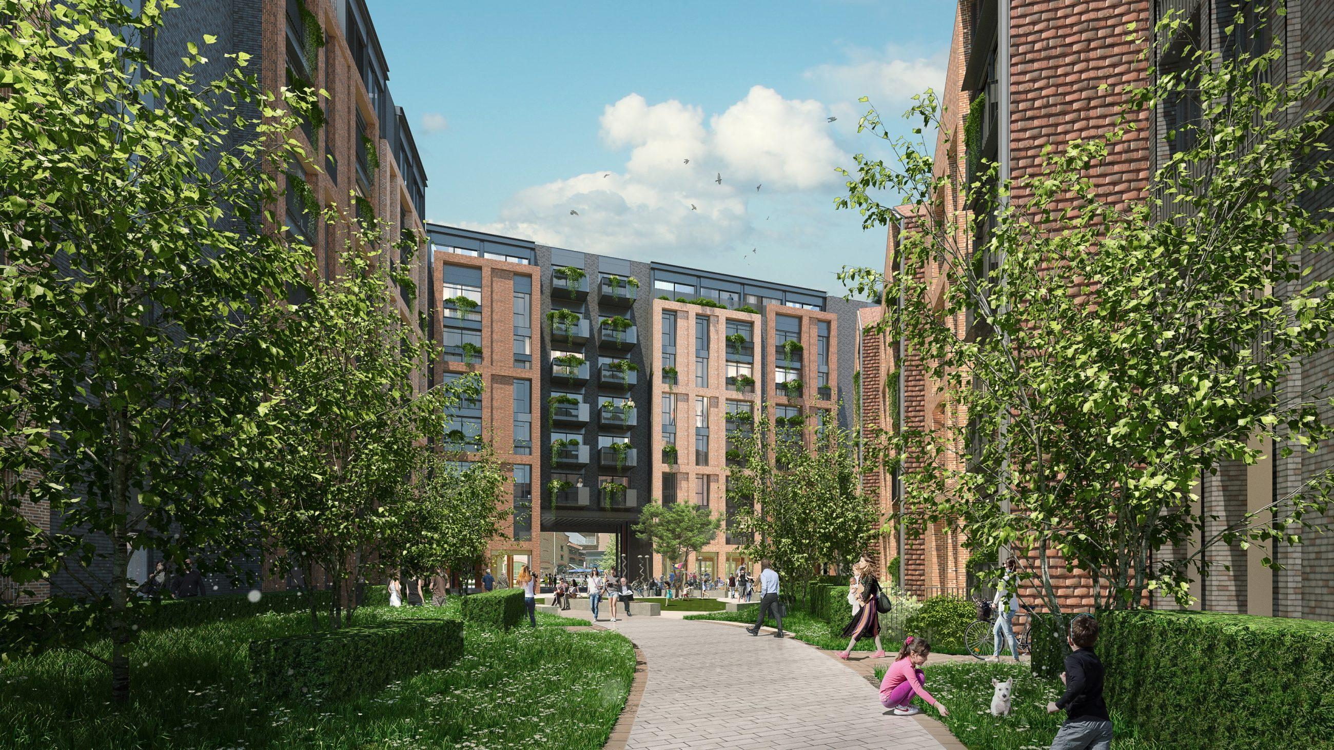 Walton-on-thames site render Eugene Marchese planning overhaul itv