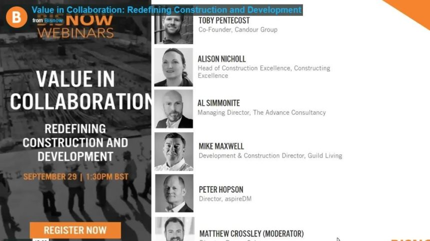 Mike Maxwell value in collaboration webinar