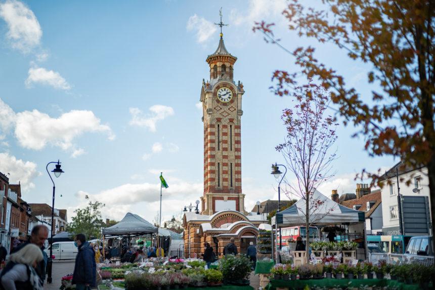 Epsom market place